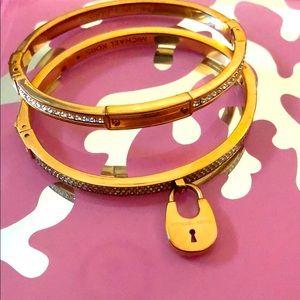 Micheal Kors bracelets